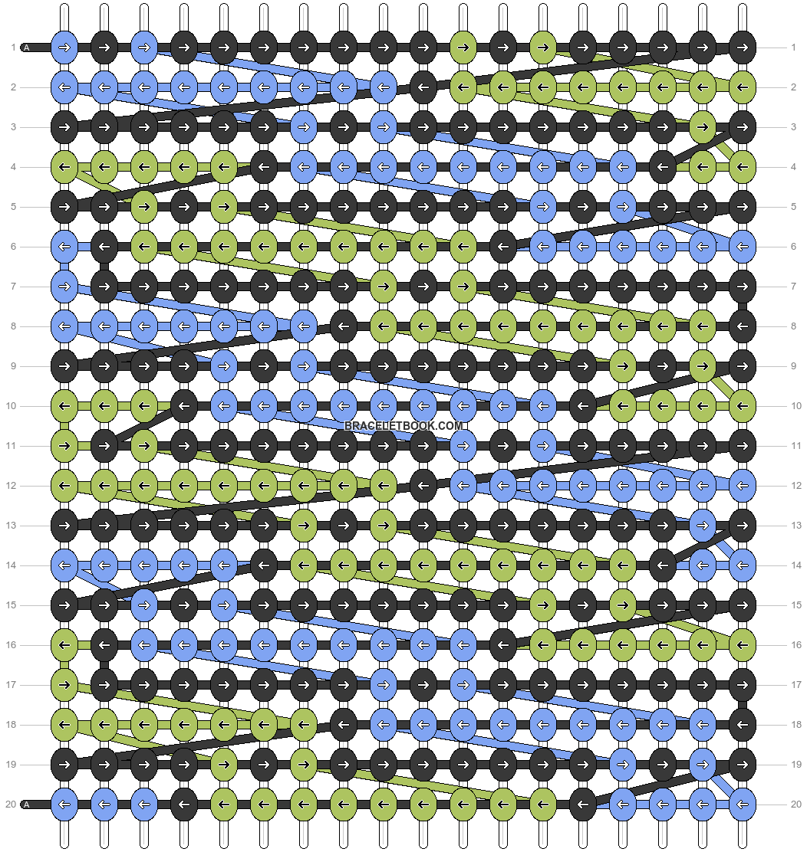 Alpha pattern #26666 pattern