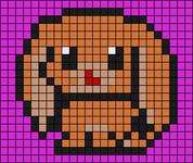 Alpha pattern #26667
