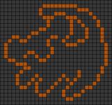 Alpha pattern #26684