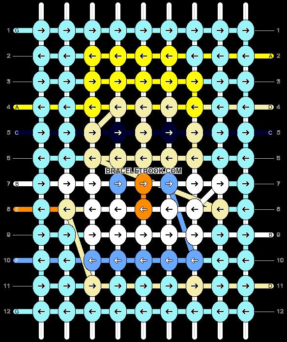 Alpha pattern #26686 pattern