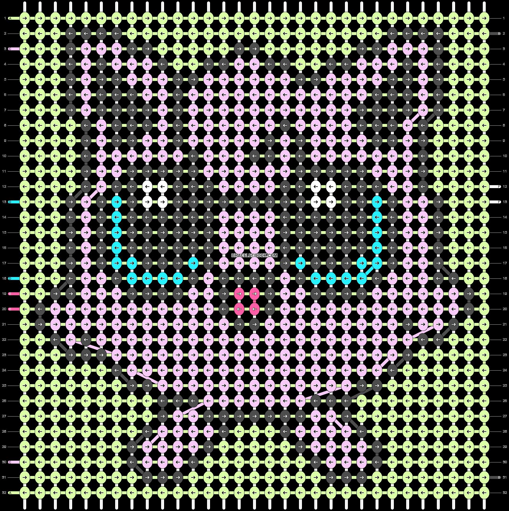 Alpha pattern #26694 pattern