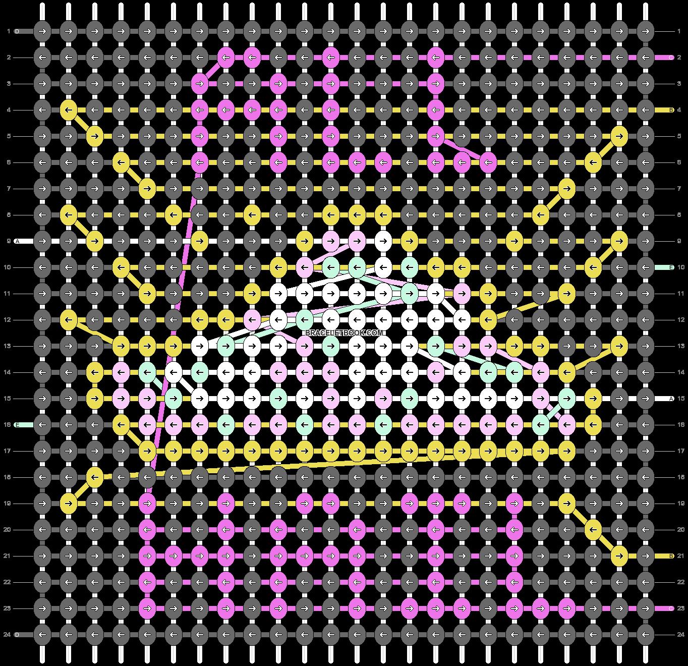 Alpha pattern #26695 pattern