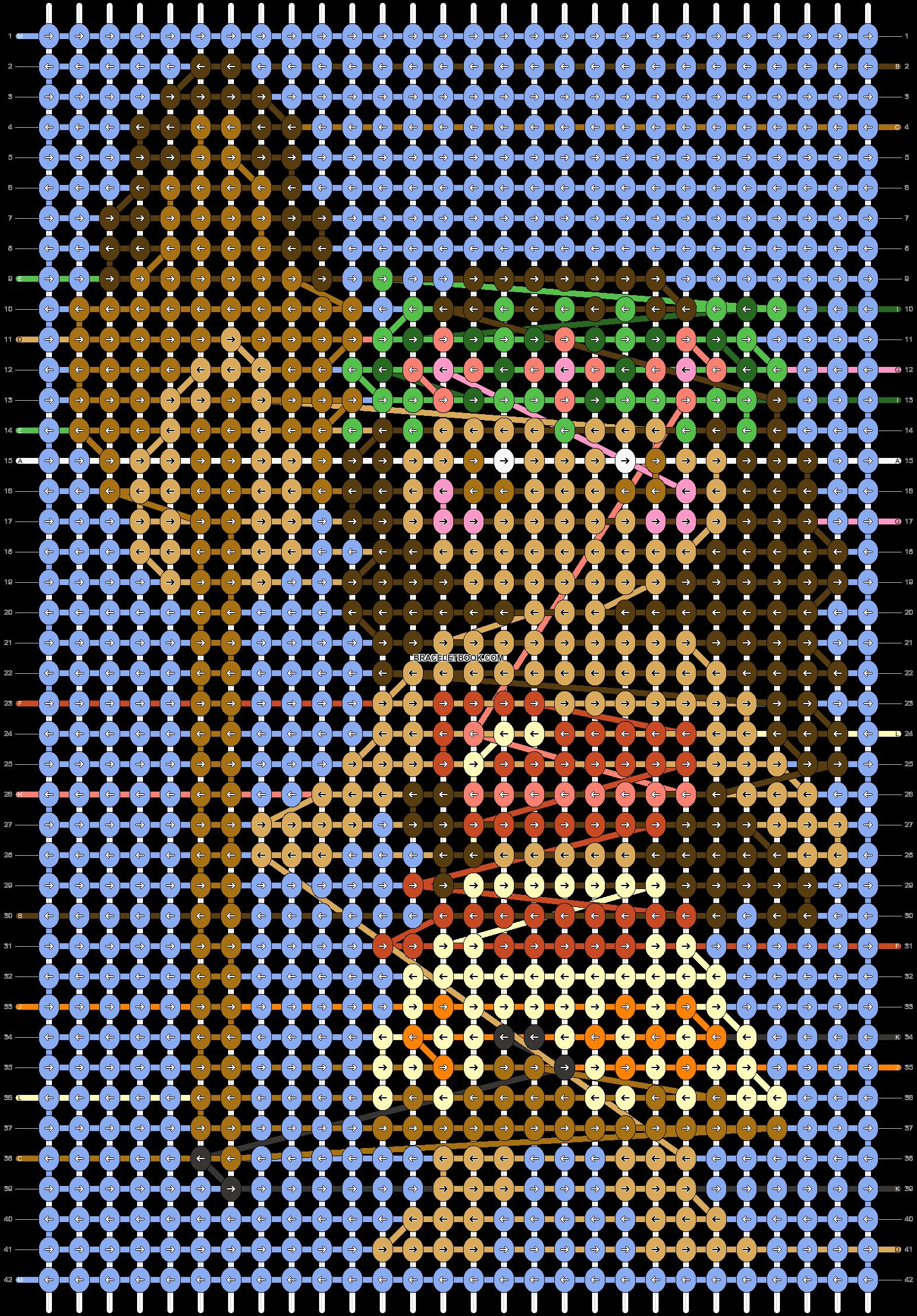 Alpha pattern #26717 pattern