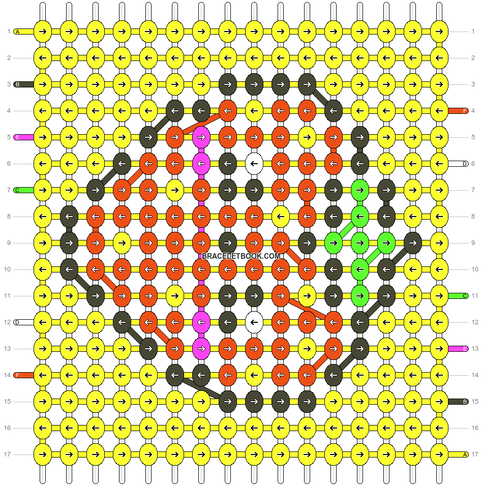Alpha pattern #26763 pattern