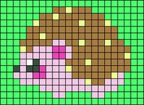 Alpha pattern #26765