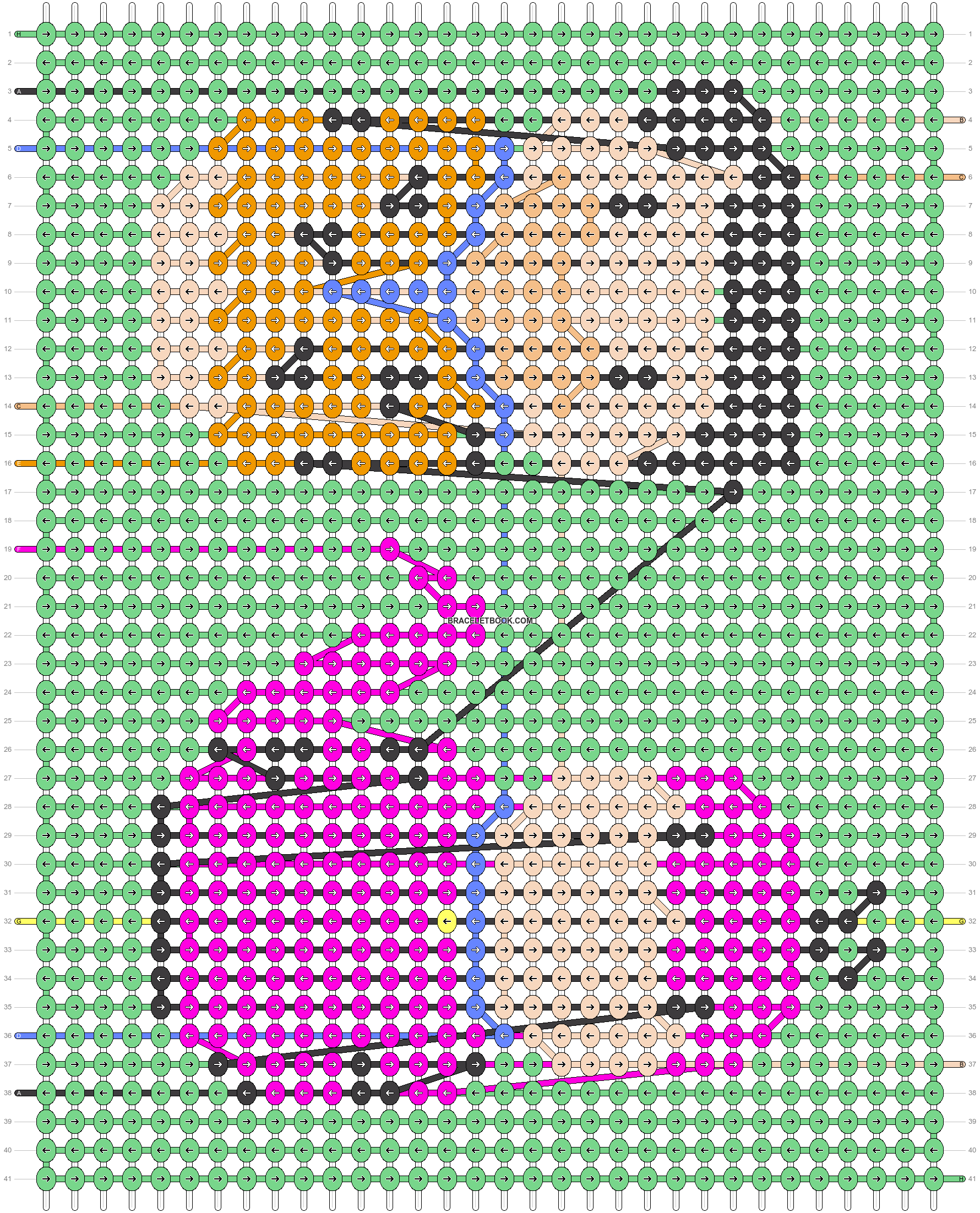 Alpha pattern #26768 pattern