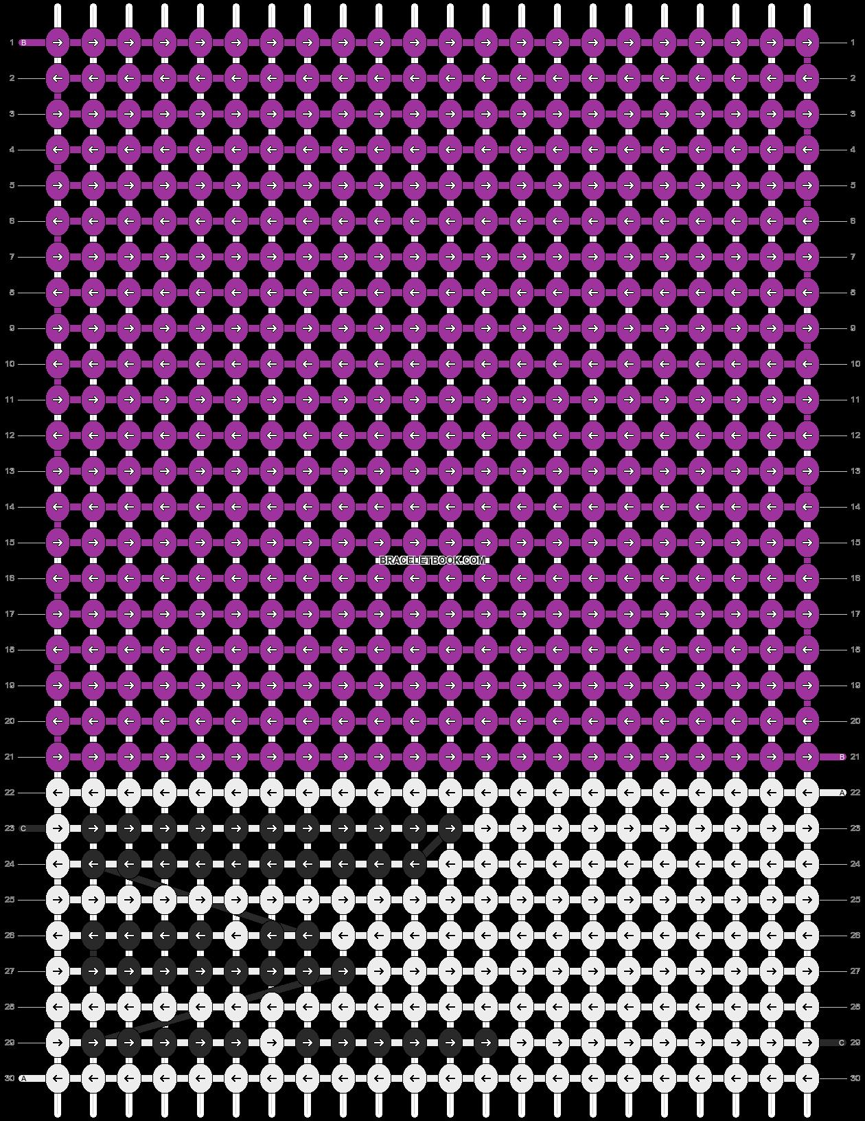 Alpha pattern #26769 pattern
