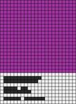 Alpha pattern #26769