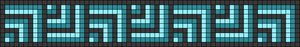 Alpha pattern #26775