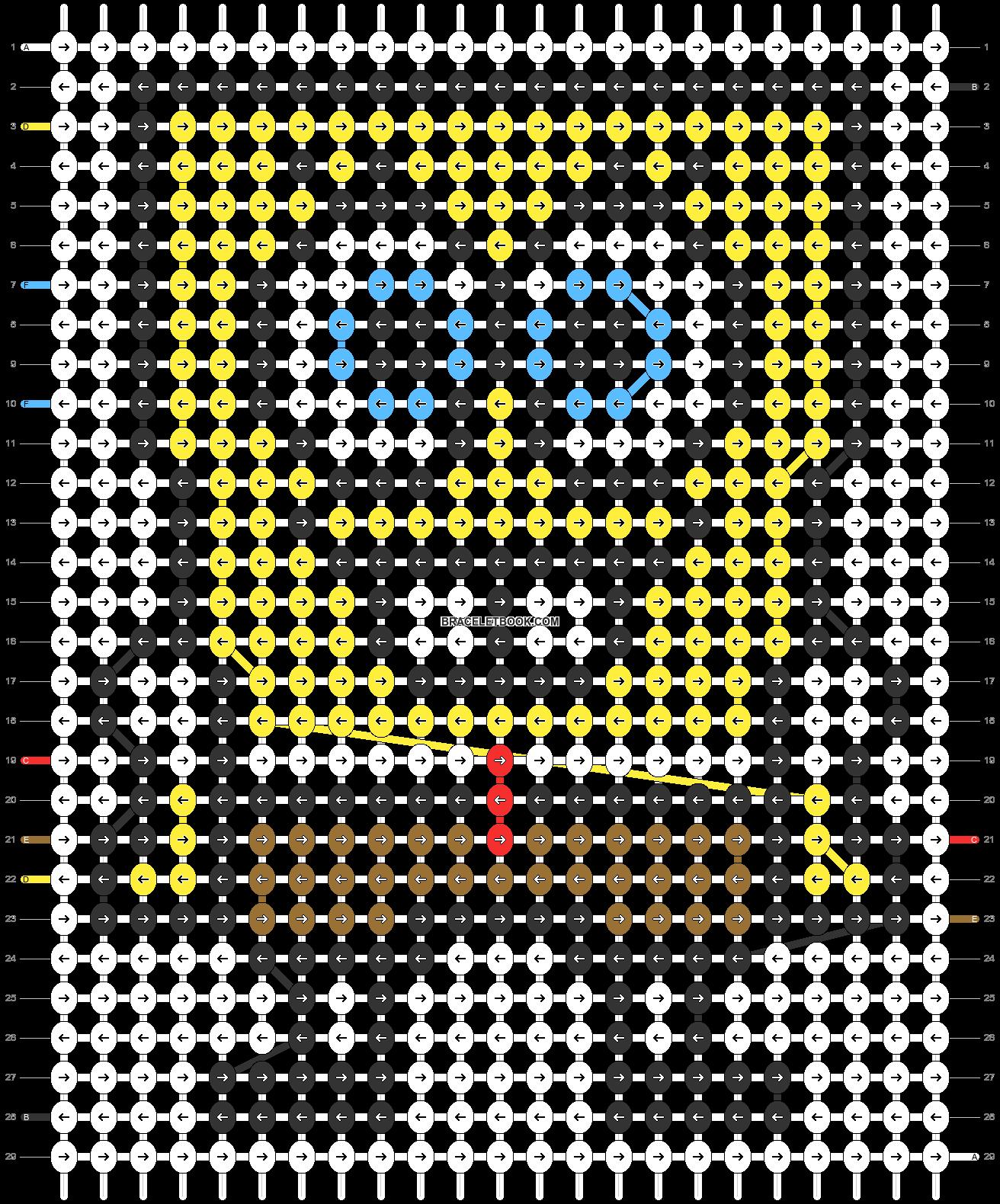 Alpha pattern #26783 pattern