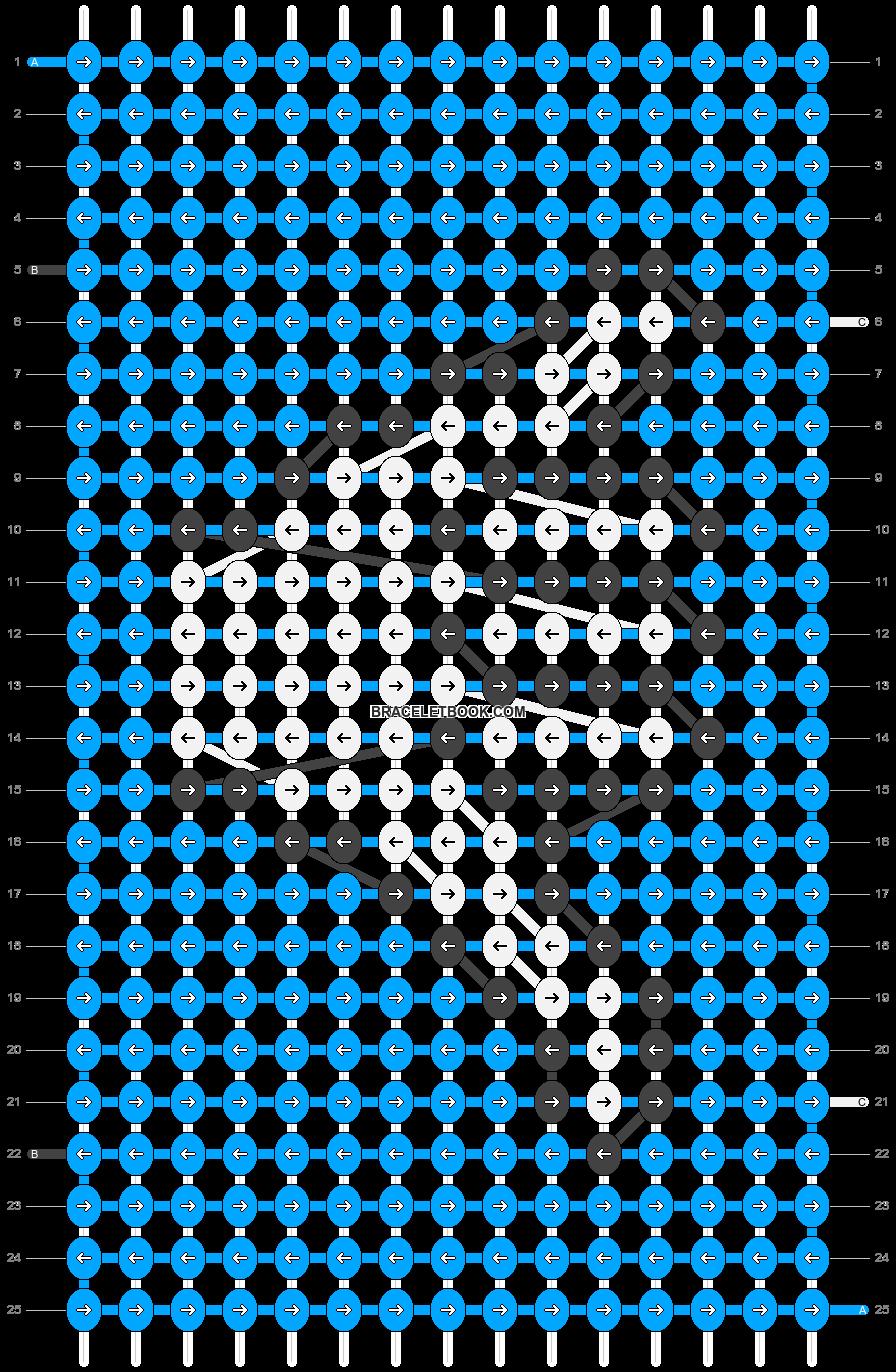 Alpha pattern #26788 pattern