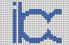 Alpha pattern #26818