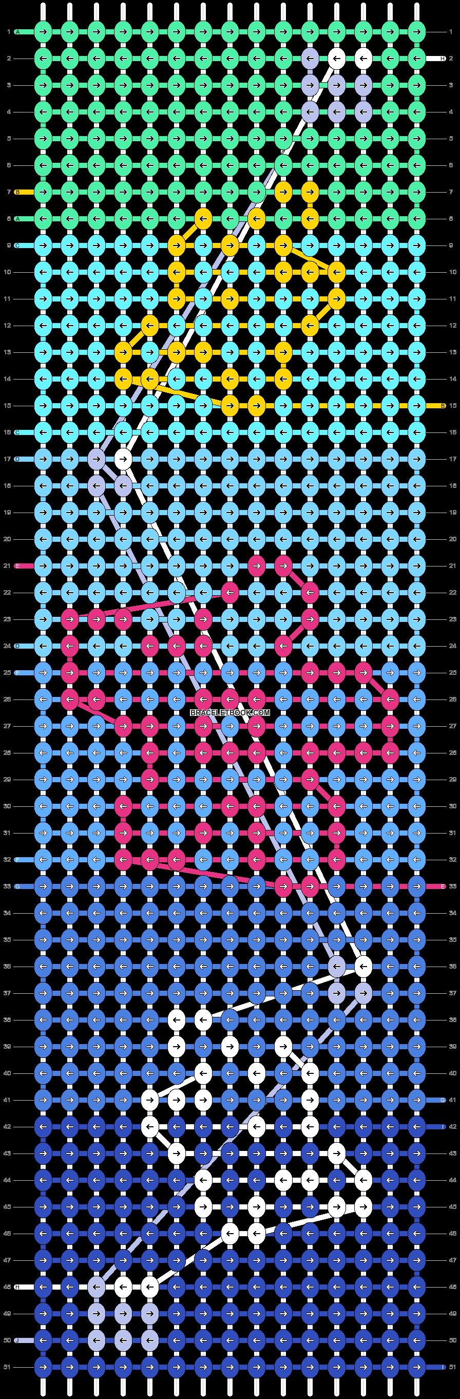 Alpha pattern #26819 pattern