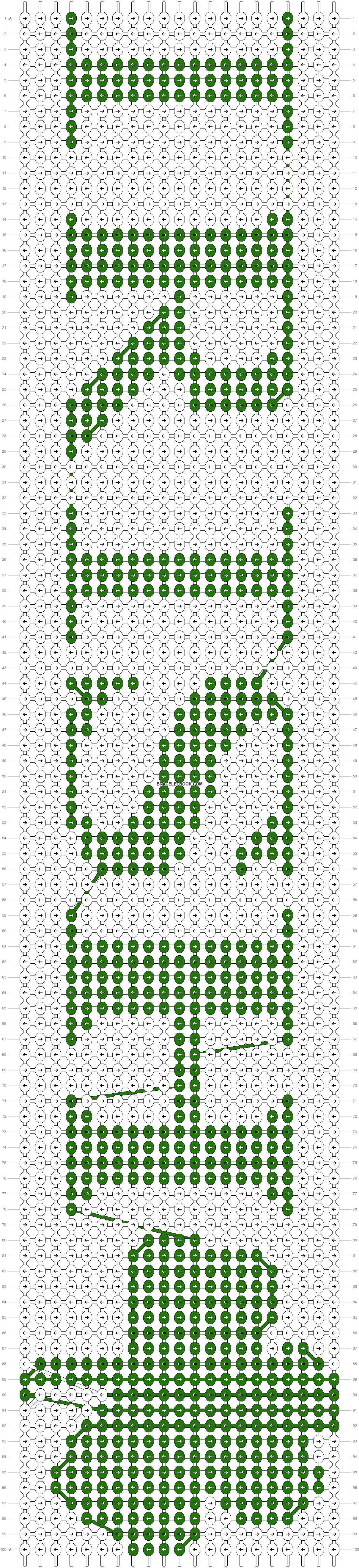 Alpha pattern #26850 pattern