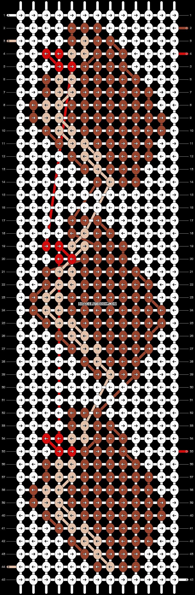 Alpha pattern #26853 pattern
