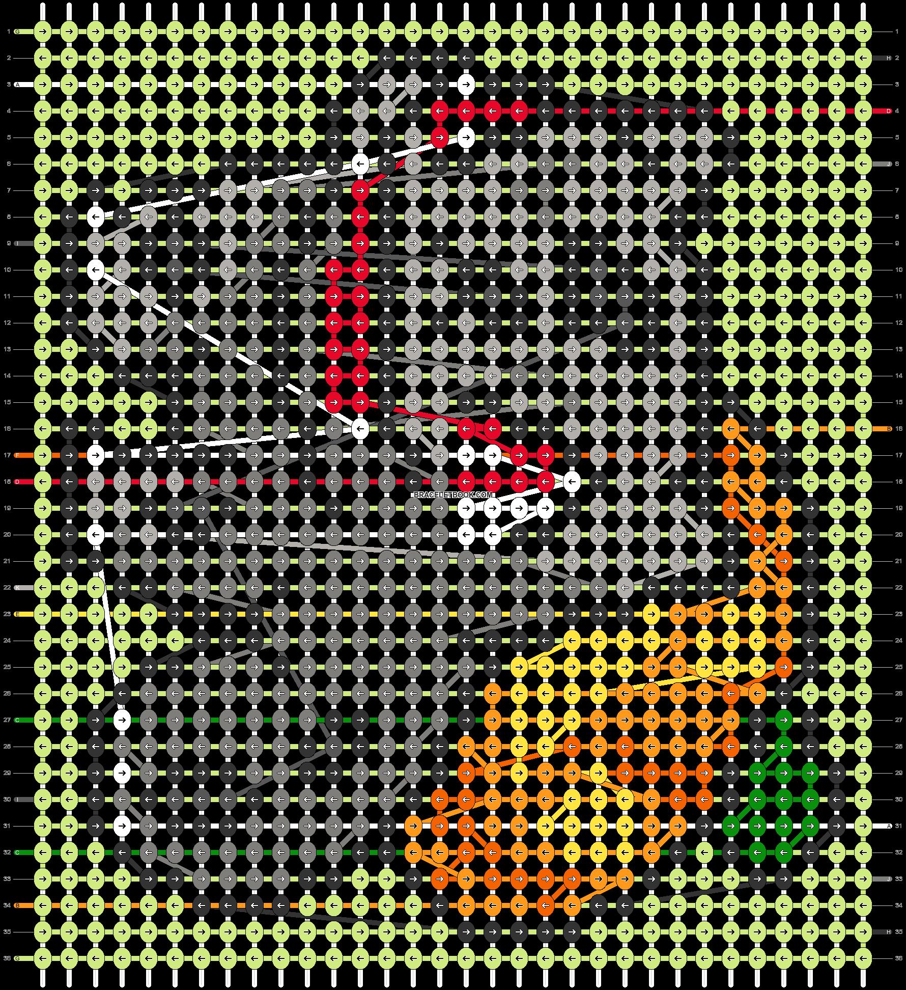 Alpha pattern #26854 pattern