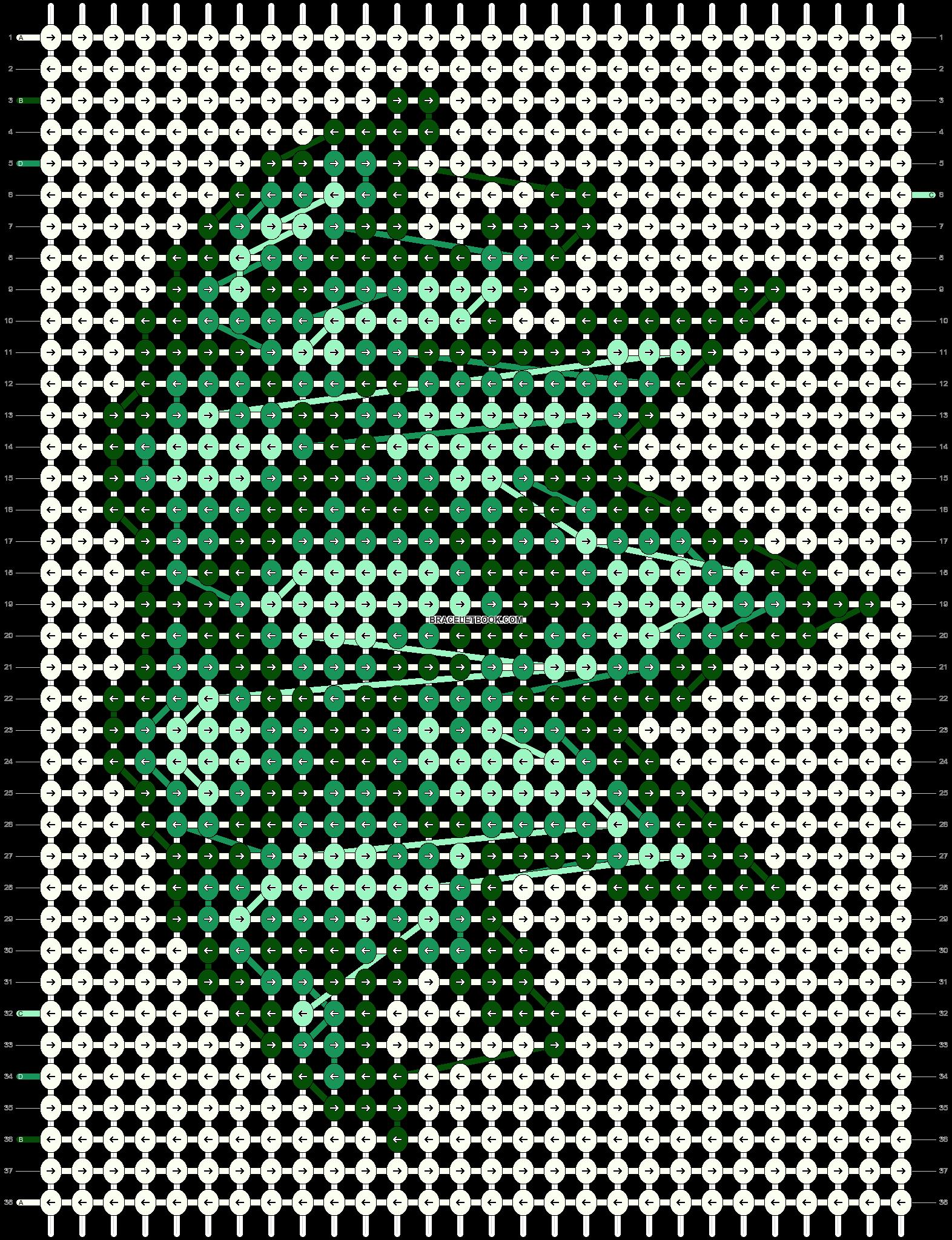 Alpha pattern #26858 pattern