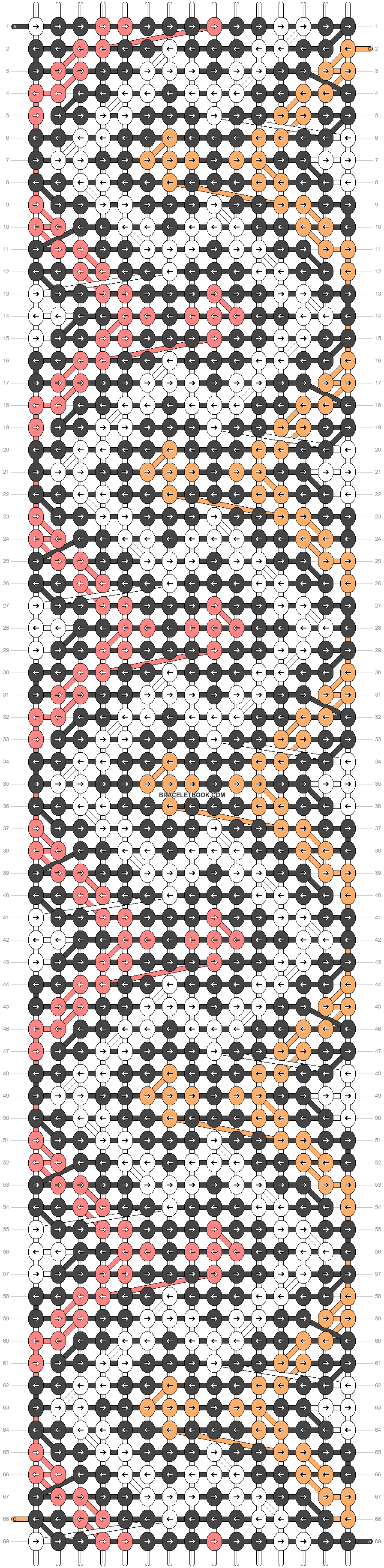 Alpha pattern #26859 pattern