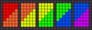 Alpha pattern #26869