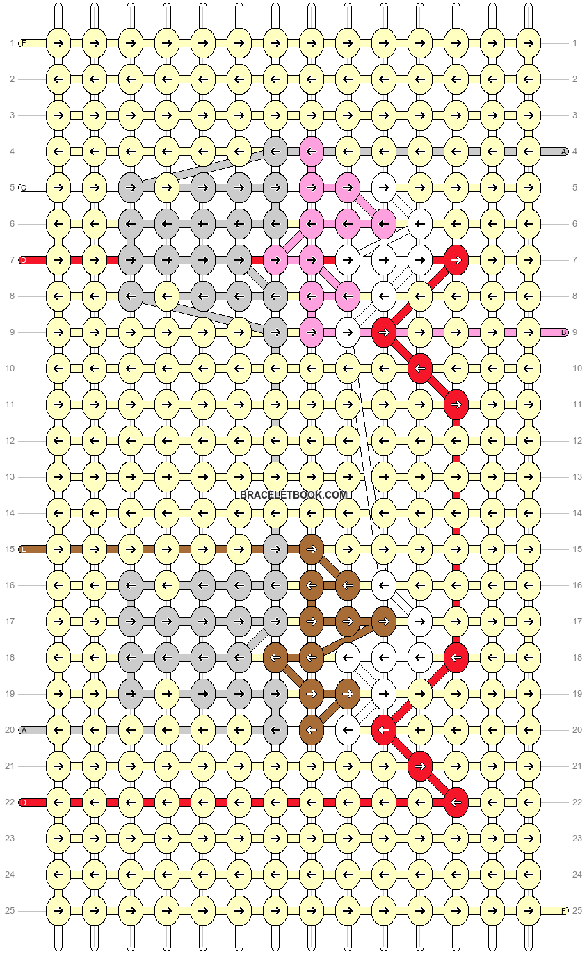 Alpha pattern #26893 pattern