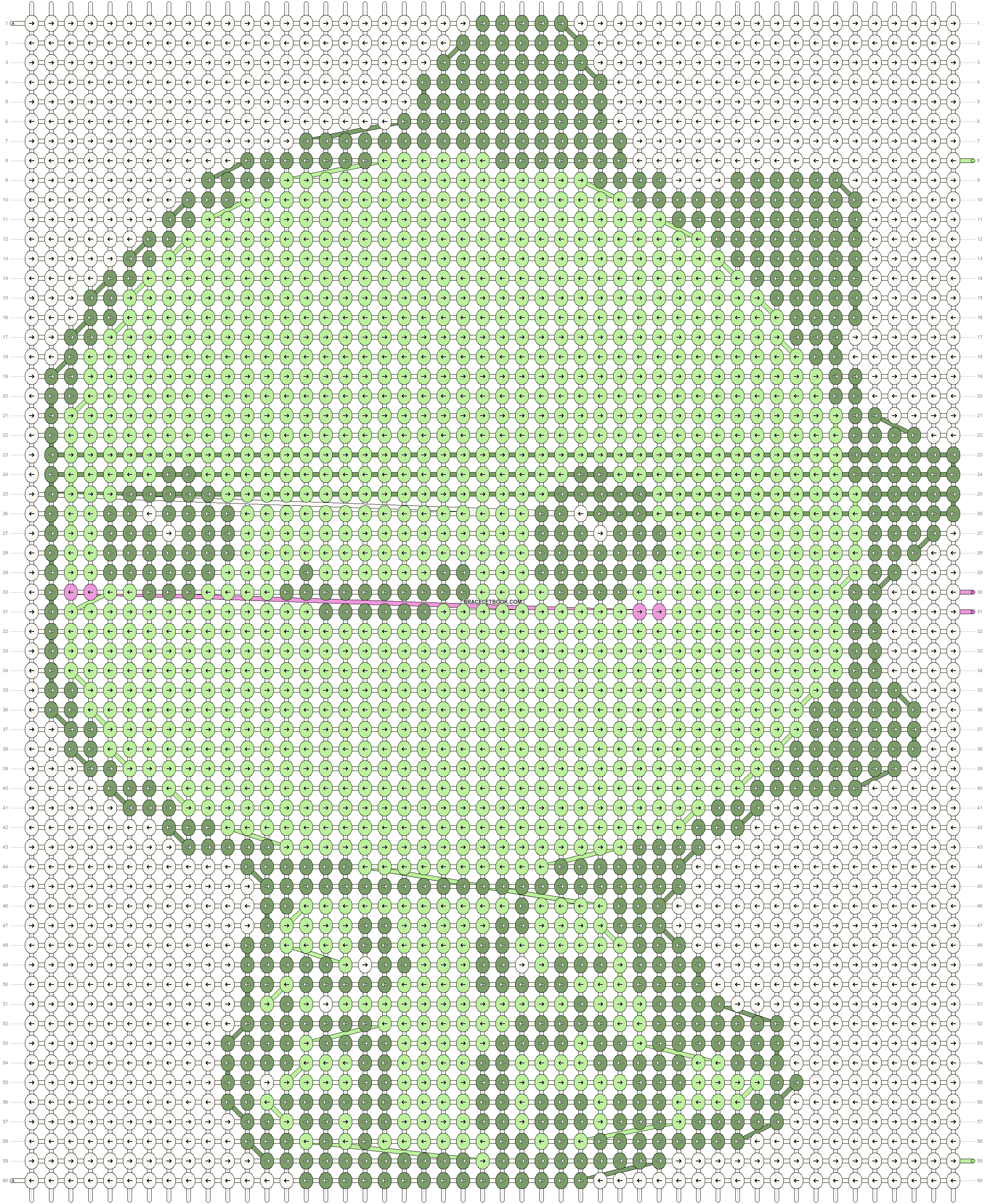 Alpha pattern #26904 pattern