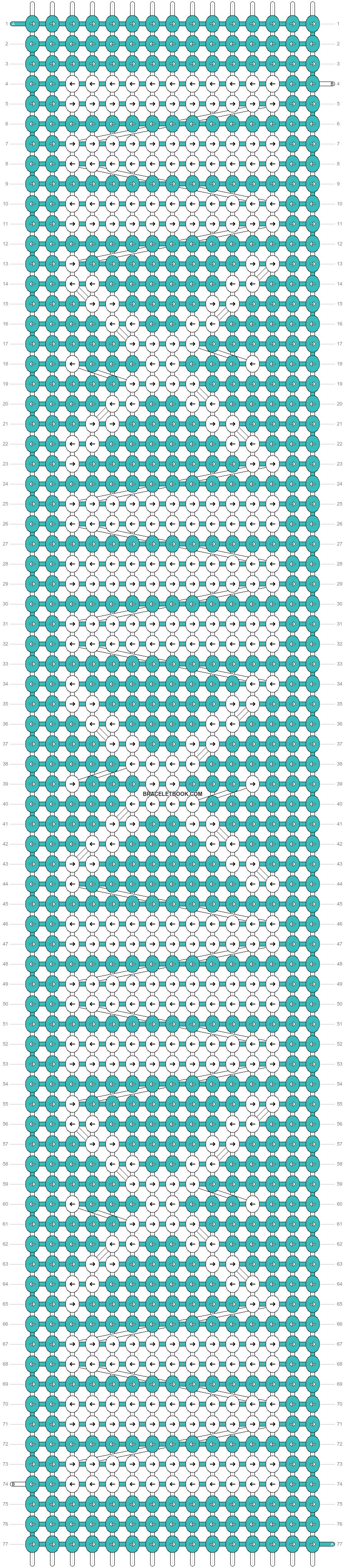 Alpha pattern #26937 pattern