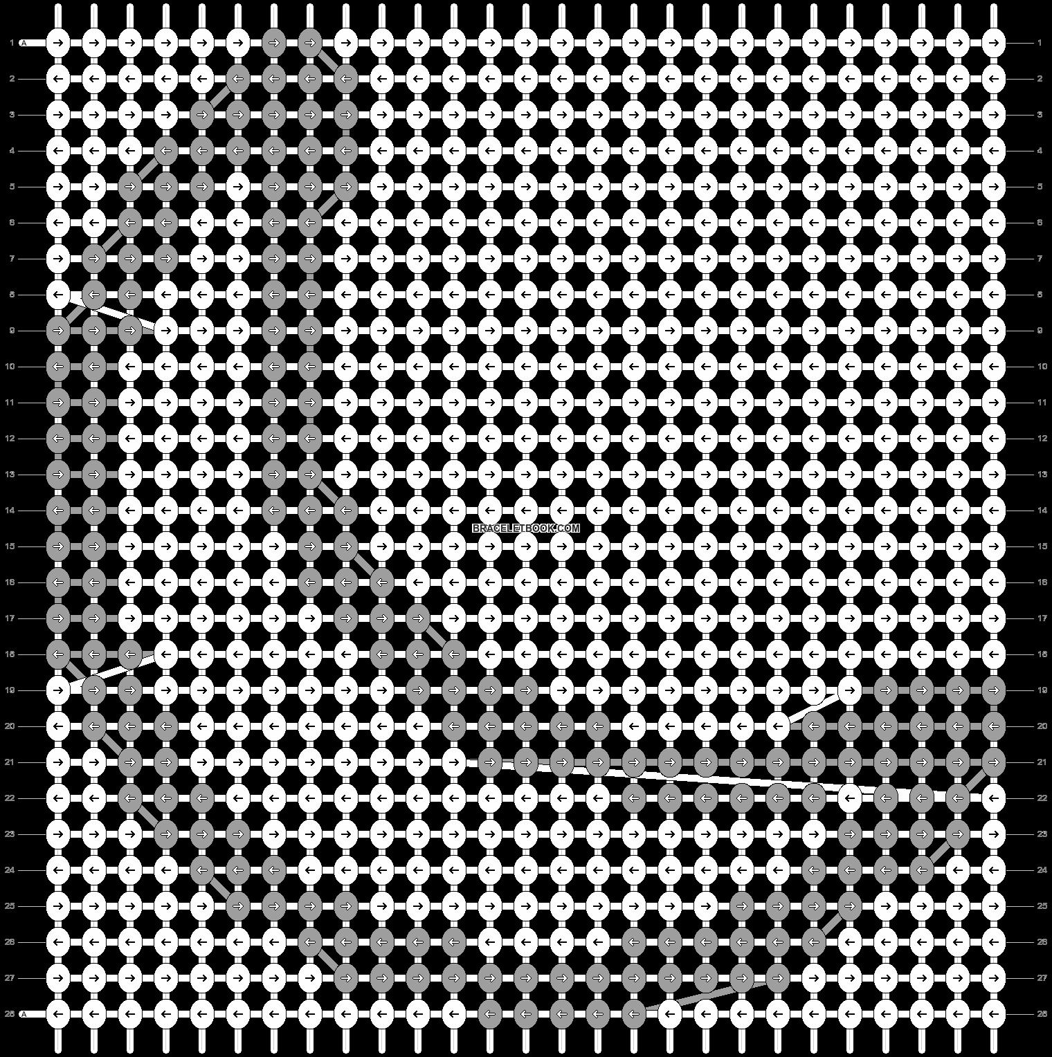 Alpha pattern #26960 pattern