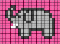 Alpha pattern #26963