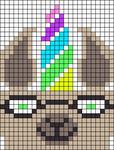 Alpha pattern #26966