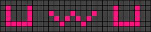 Alpha pattern #26995