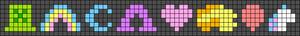 Alpha pattern #27008