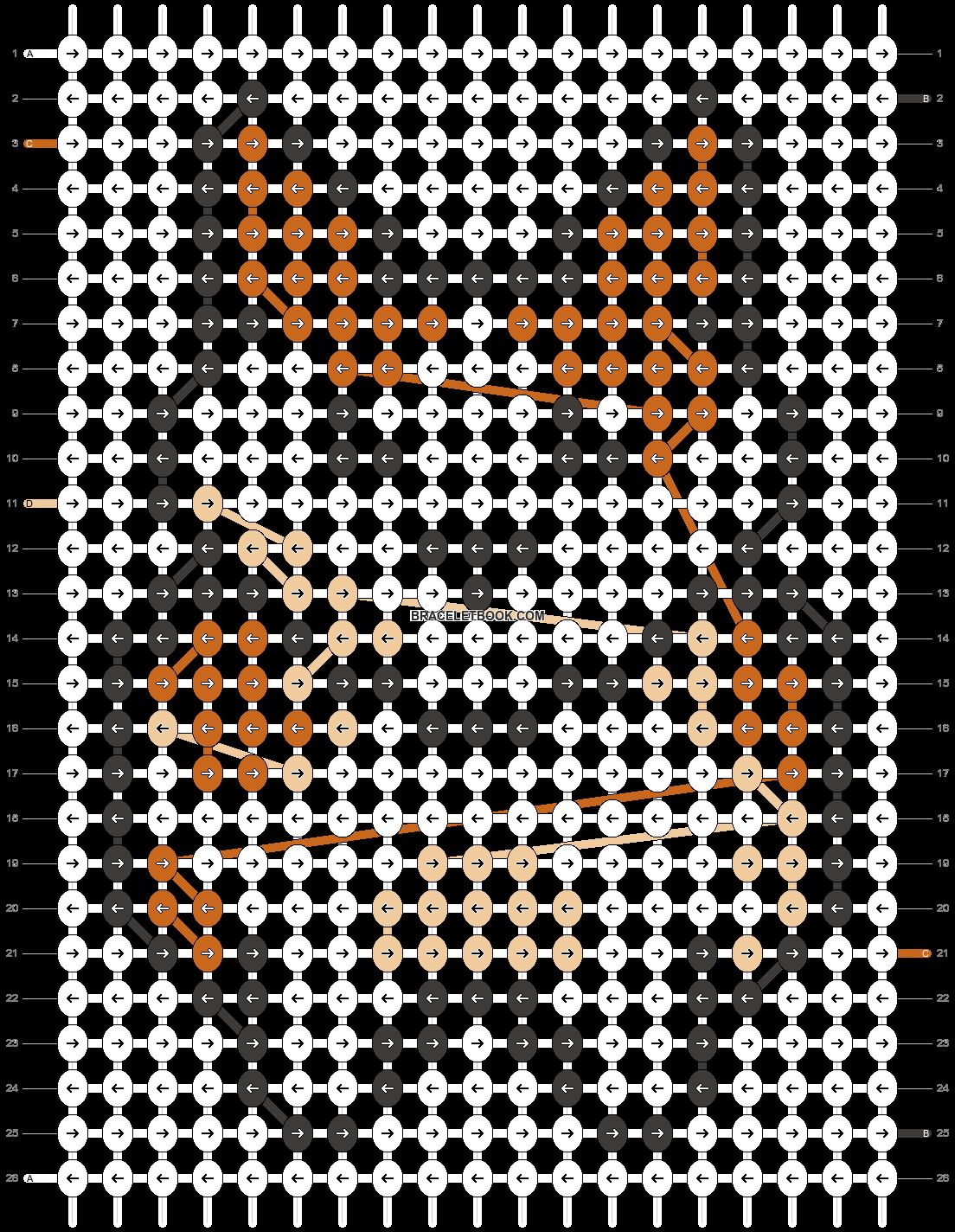 Alpha pattern #27017 pattern
