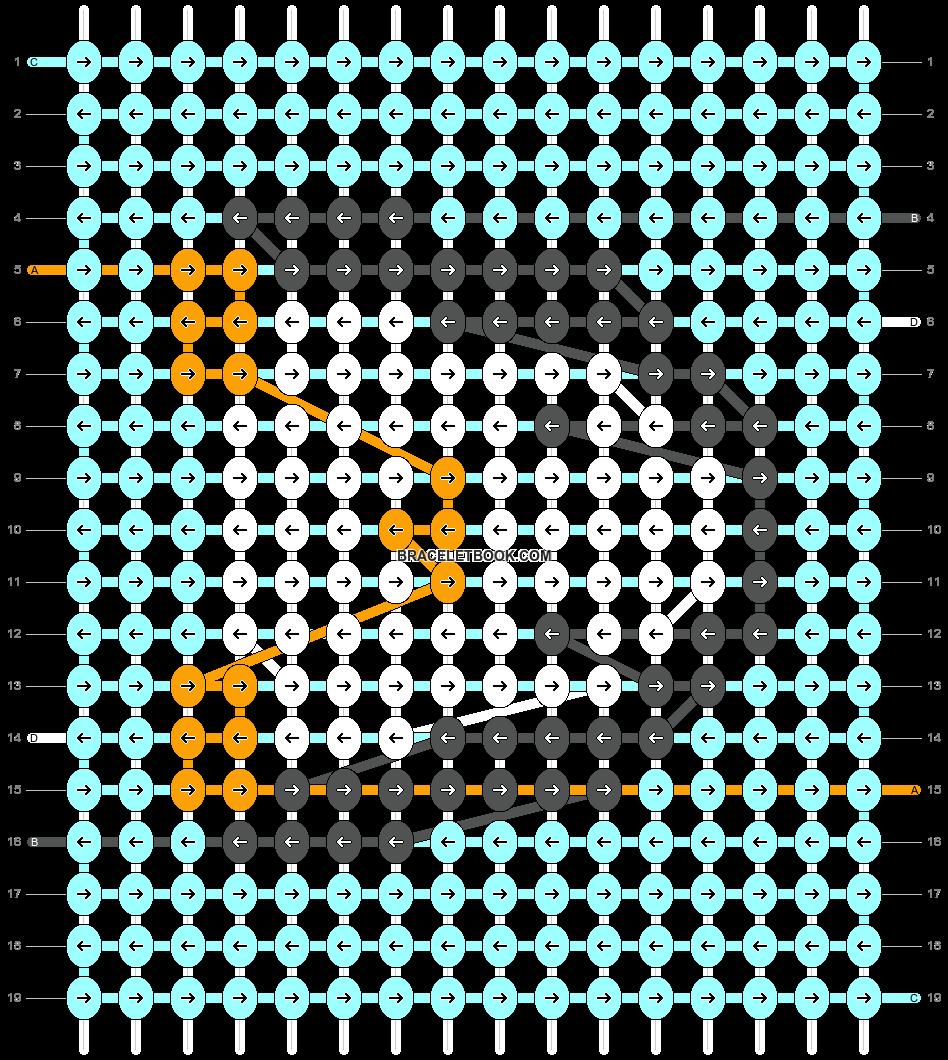 Alpha pattern #27050 pattern