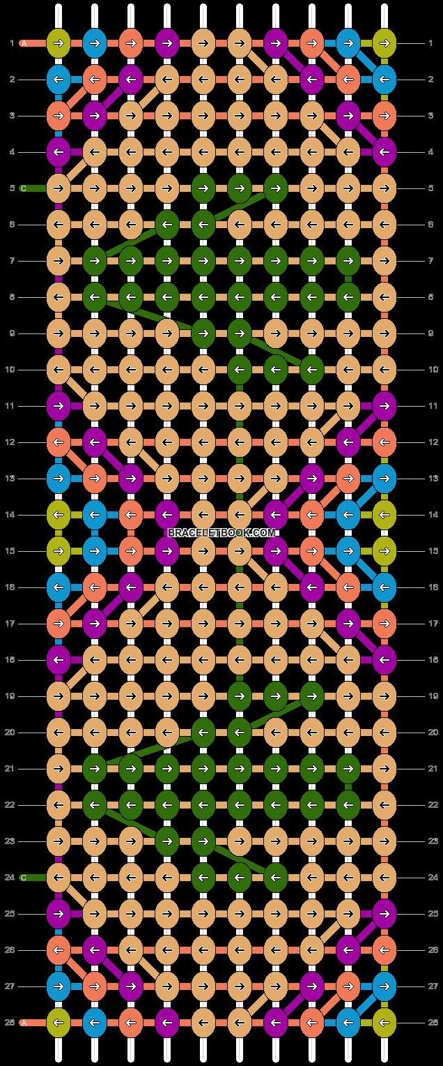 Alpha pattern #27056 pattern