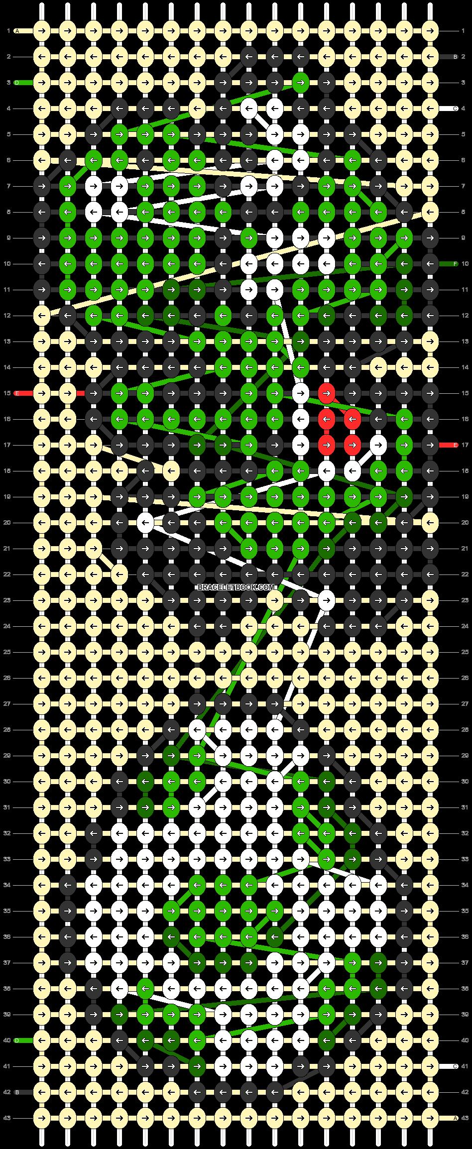 Alpha pattern #27073 pattern