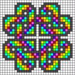 Alpha pattern #27090