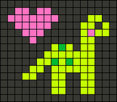 Alpha pattern #27100