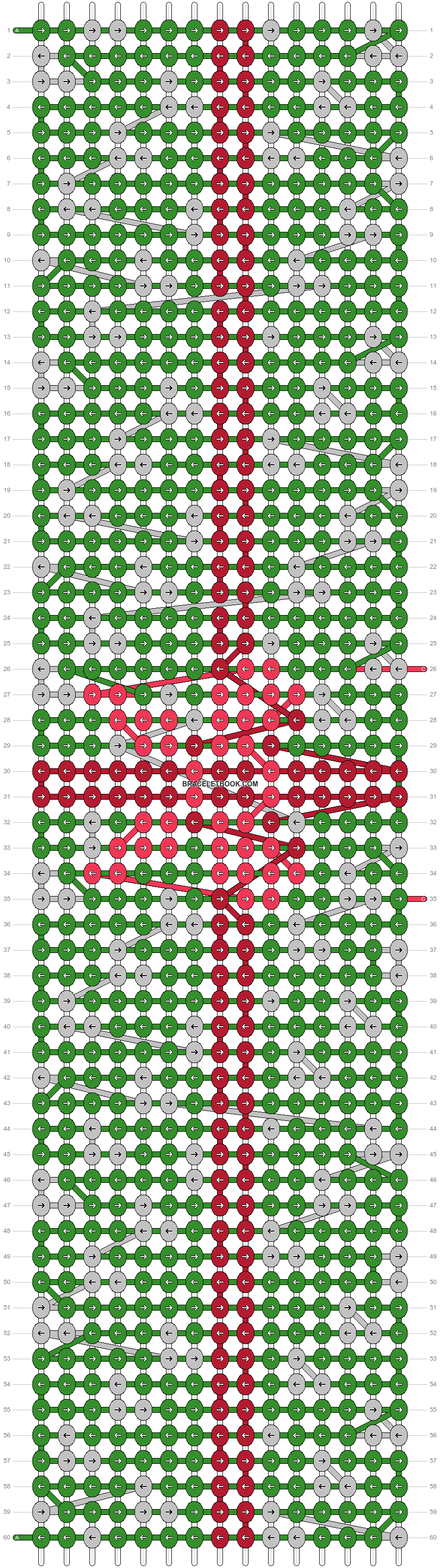 Alpha pattern #27105 pattern