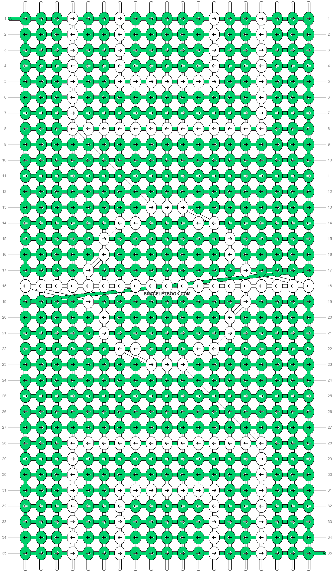 Alpha pattern #27110 pattern
