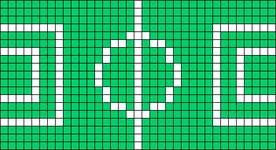 Alpha pattern #27110