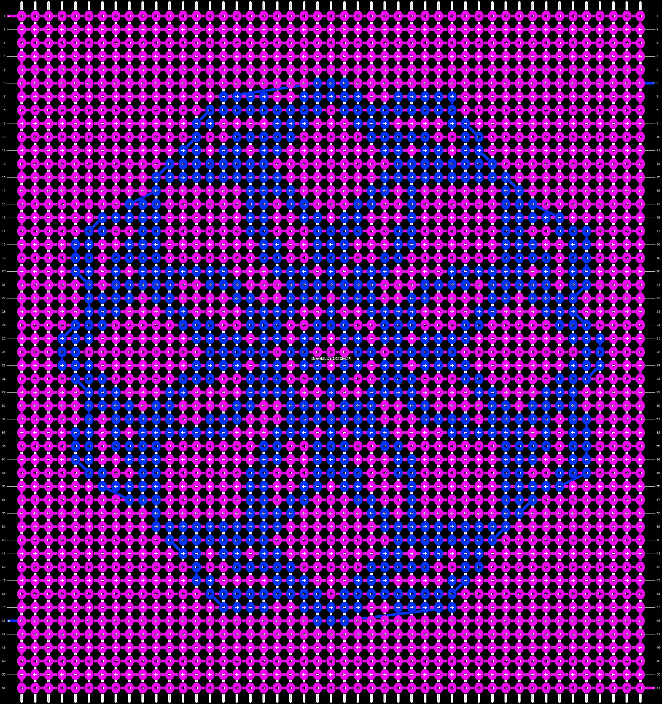 Alpha pattern #27114 pattern