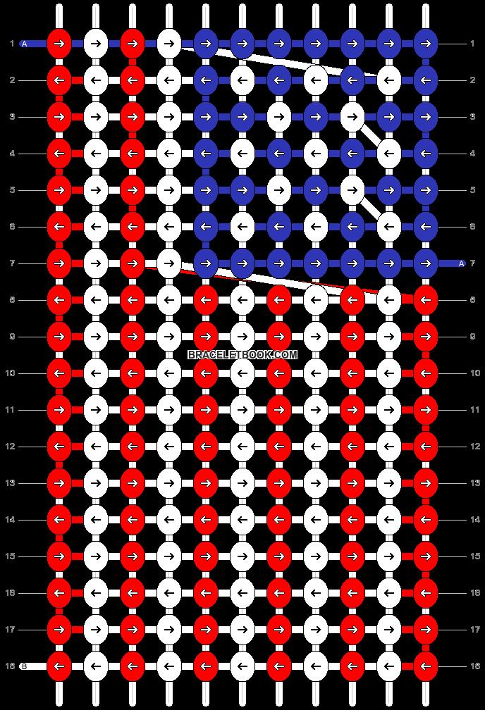 Alpha pattern #27116 pattern