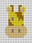 Alpha pattern #27118