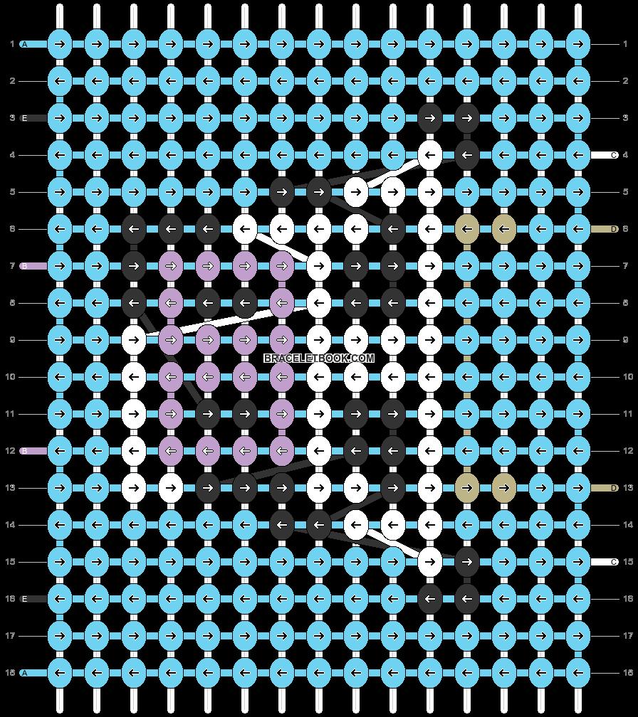 Alpha pattern #27136 pattern