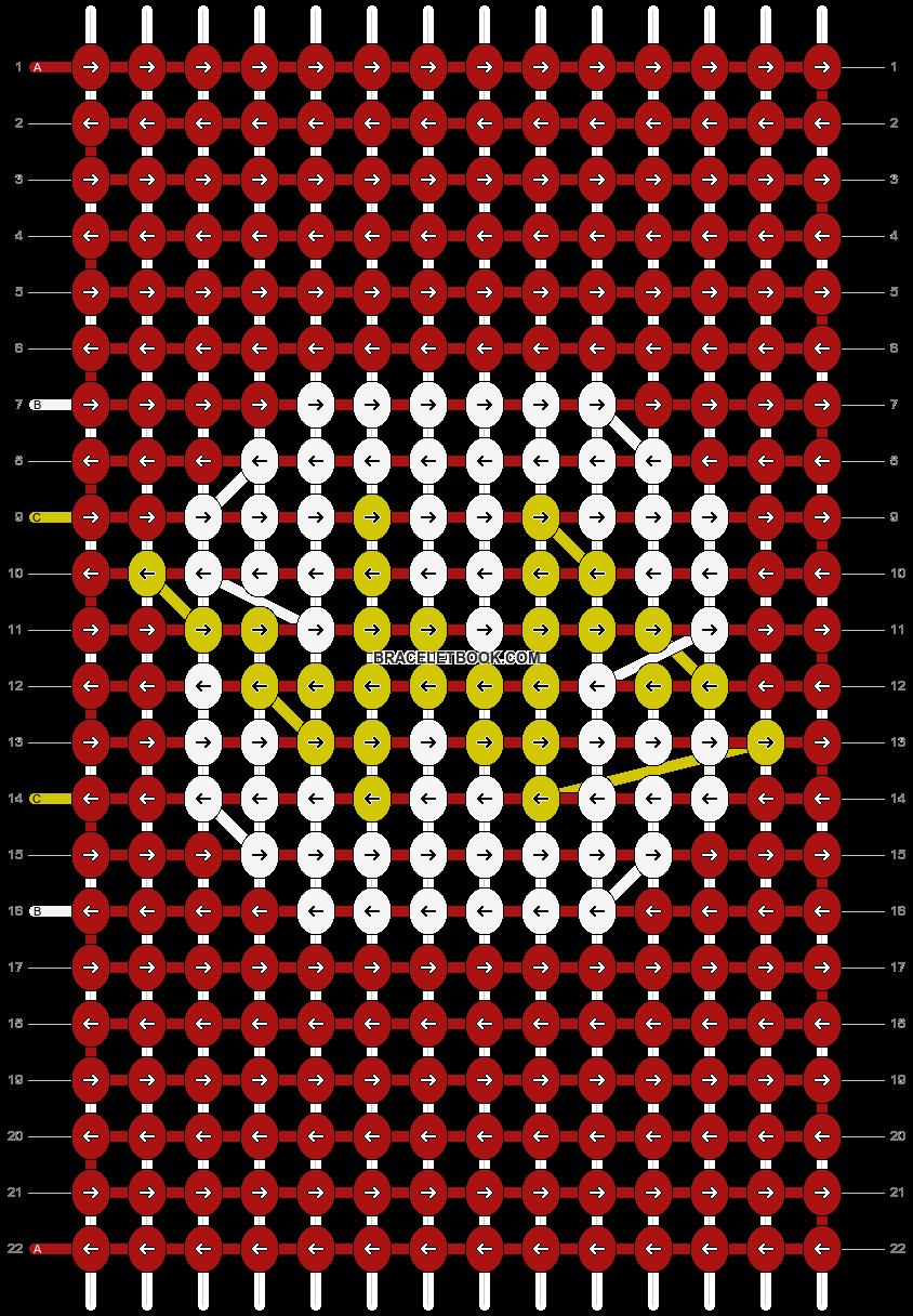 Alpha pattern #27176 pattern