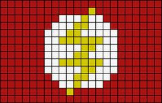 Alpha pattern #27176