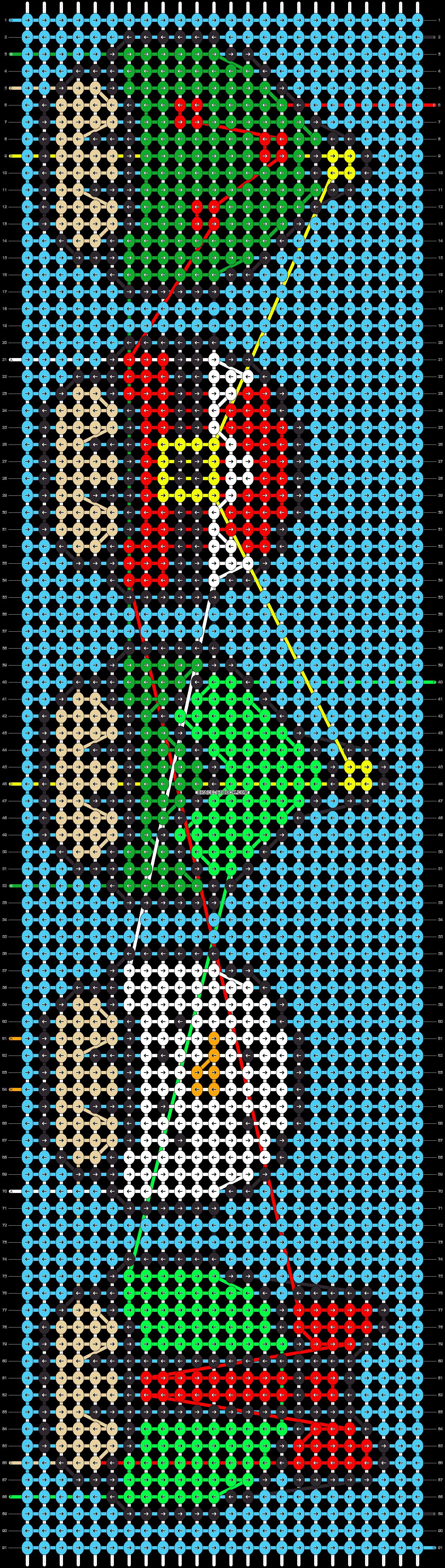 Alpha pattern #27191 pattern