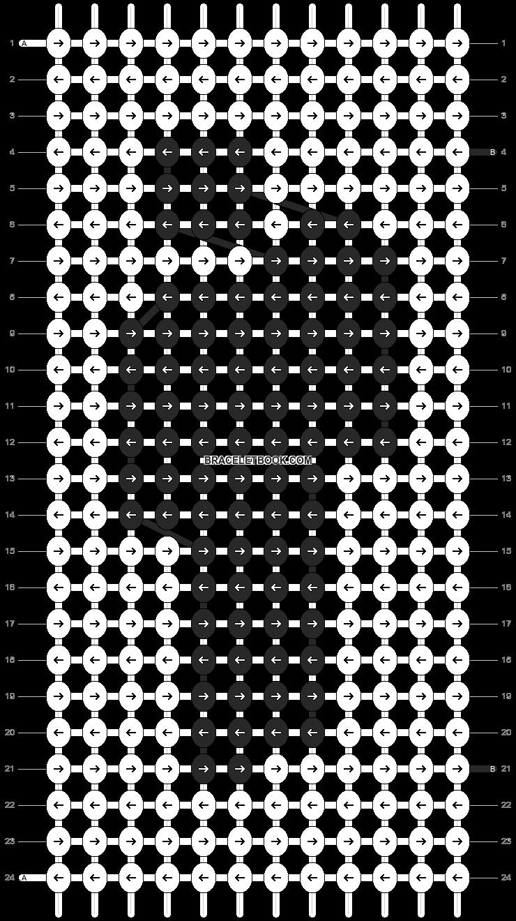 Alpha pattern #27192 pattern