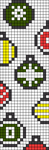 Alpha pattern #27199