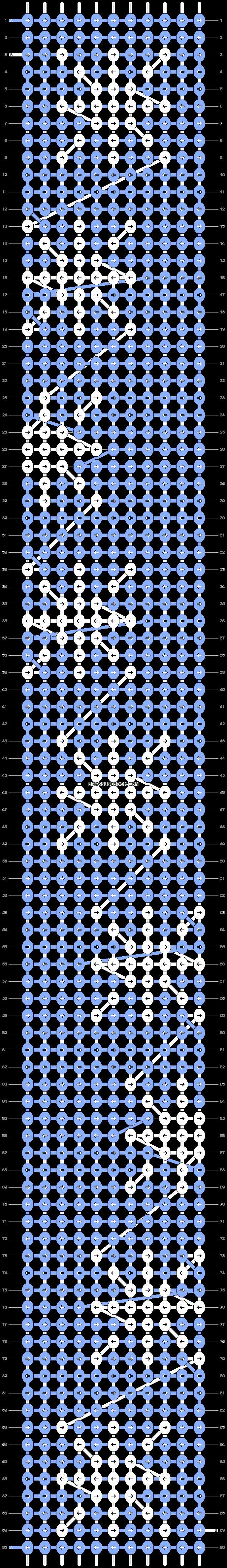 Alpha pattern #27201 pattern